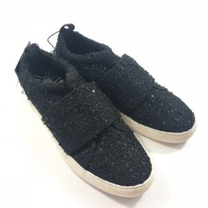 NWT DV by Dolce Vita Sparkle Black Sneakers